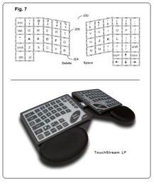 Tastiera Multitouch