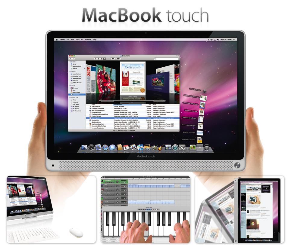 macbook touch immagine