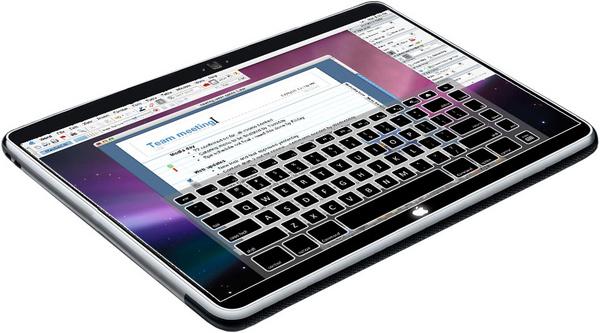 tastiera nel tablet