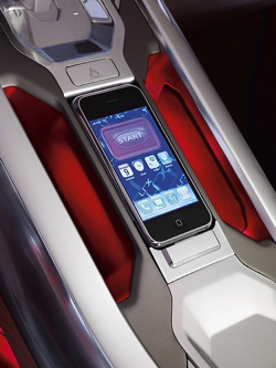 landrover concept iphone