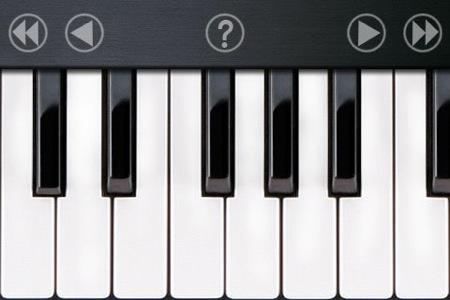 Tastiera musicale sull'iPhone