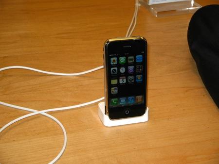 iPhone in esposizione