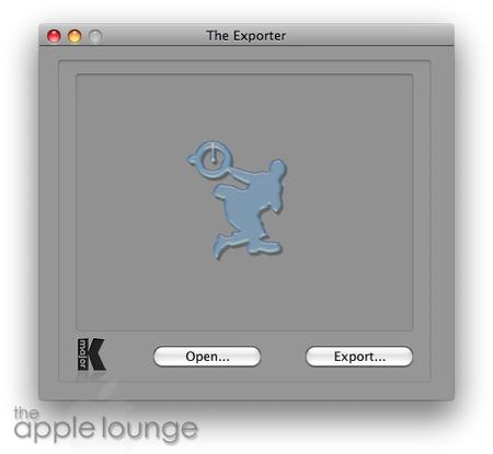 exporter immagine
