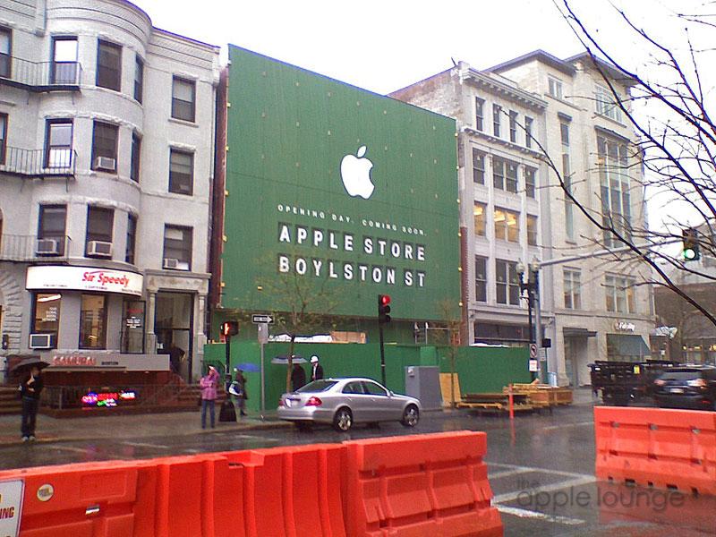 Apple store Boston