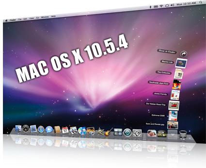 Mac OS X 10.5.4