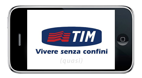 iPhone 3G tariffe Tim