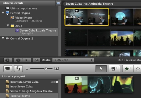 how to cut clips in imovie
