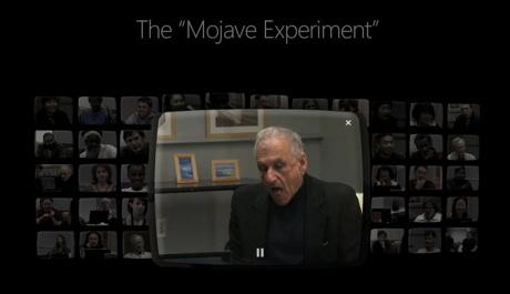 Uno degli utenti (Sir Ben Kingsley?) rimane letteralmente a bocca aperta quando scopre che Mojave è Windows Vista.