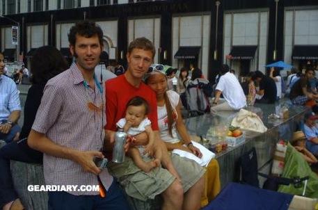 Da Sin: Il Commissario Basettoni, Beckham e Lucy Liu con Suri Cruise