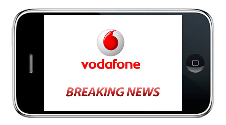 iPhone Vodafone Breaking News