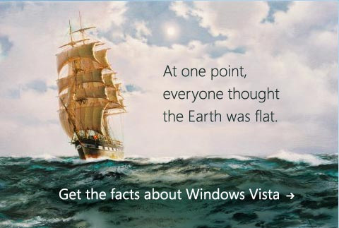 Vista Flat Earth