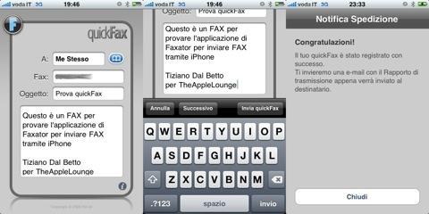 quickfax i fax da iphone sono gratis the apple lounge