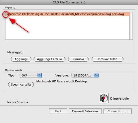 file convertiti con cad file converter per mac