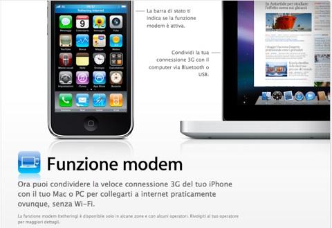 iphone modem