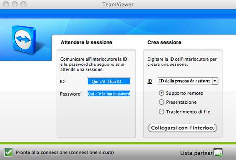 TeamViewer in azione