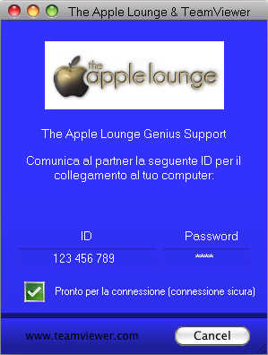 The Apple Lounge & TeamViewer