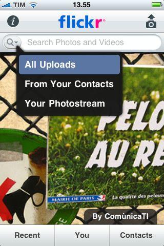 flickr iPhone main