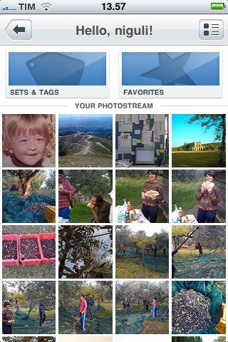 flickr iPhone foto utente
