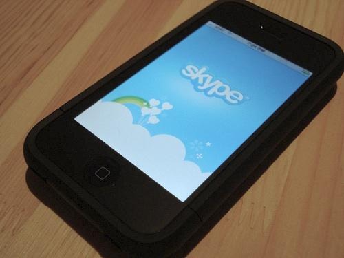 iPhone-Skype