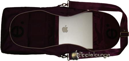 Le vertigo Prune Fronte Aperta con MacBook Pro TheAppleLounge