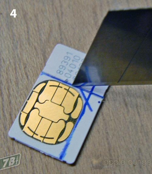 Как сделать из обычной сим карты в микро сим