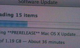 Mac OS X 10.6.3 Prerelease