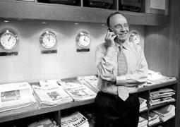 Il magnate dell'editoria Rupert Murdoch