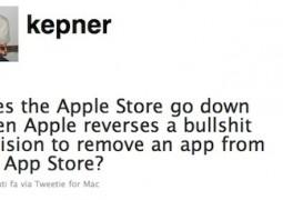 home page di twitter di Derek Kepner, autore di IS Drive