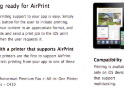 AirPrint iTouch 2G