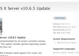 Mac Os X Server 10.6.5