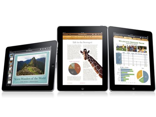 iWork iPad