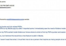 Steve Jobs email ibooks