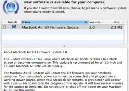 MacBook Air EFI 2.0 Update