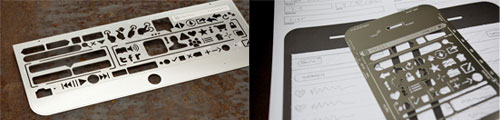 stencil mockup kit per iPad e iPhone