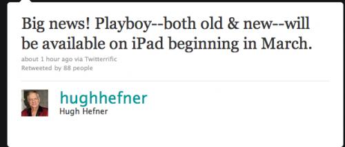 Playboy iPad