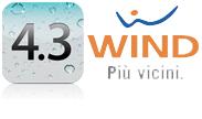 iOS 4.3 e WIND