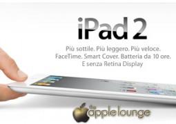 iPad 2 senza retina display