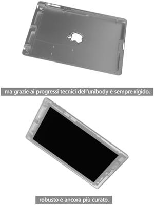 iPad 2 unibody