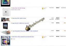 iPad preordini eBay