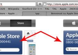 Apple Store Telefonico Cambia Numero?