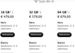 Calano tempi di spedizione iPad 2 - The Apple Lounge