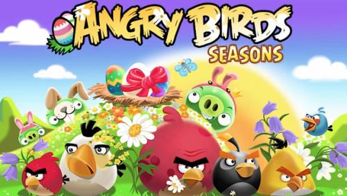 Angry Birds Seasons Easter