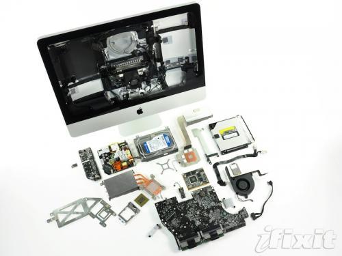 teardown iMac