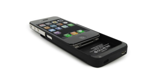 Battery cover per iPhone 4: montaggio