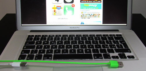 Cavo Dock - USB by aiino lunghezza 120 cm - The Apple Lounge
