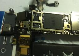 E' questa la scheda logica dell' iPhone 5 ?