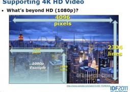 Processori Ivy Bridge Intel supportano risoluzione display 4K