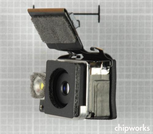 Modulo fotografico posteriore dell' iPhone 4S