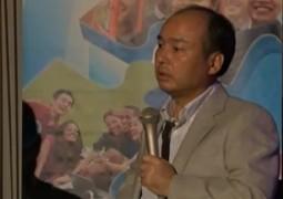 Masayoshi Son, CEO della compagnia telefonica giapponese Softbank
