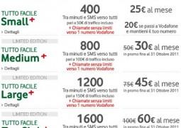 Offerta Vodafone piani abbonamento